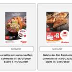 Auchan produits remboursés sur auchan.fr