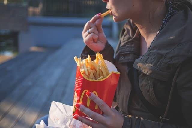la presentation de McDonald's