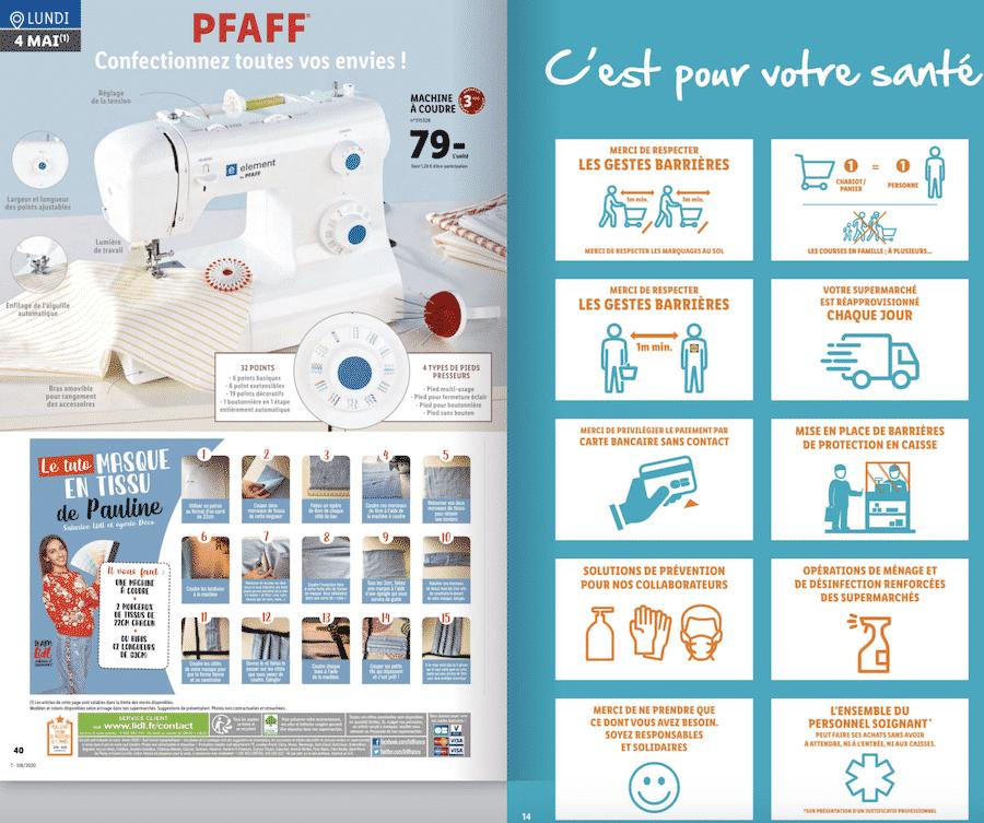 Machine à coudre LIDL PFAFF à 79 euros sur lidl.fr