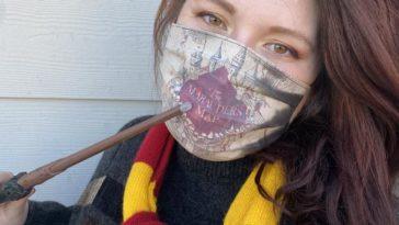 decouvrez le masque harry potter