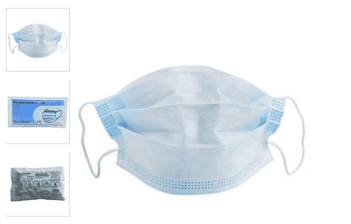Masque Leclerc : commander 10 masques en ligne pour 5 euros