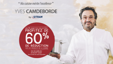 Collection Yves Camdeborde by Sitram chez Leclerc