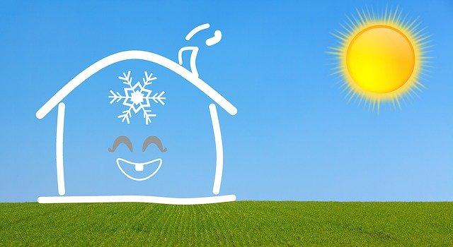 maison rafraichit avec un climatiseur mobile bien choisi