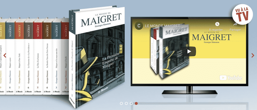 Collection Le Monde de Maigret de Georges Simenon sur www.LeMondeDeMaigret.fr : le n°1 à 2,99€