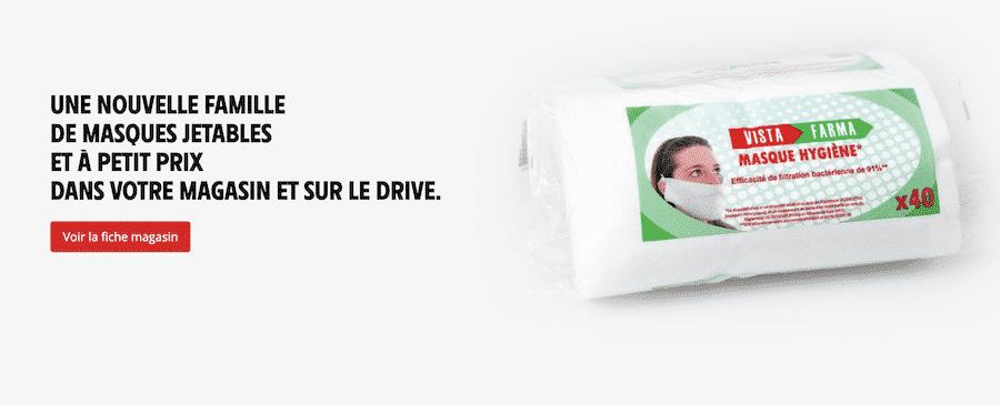 Masques Intermarché : 100 millions de masques à prix coûtant sur intermarche.fr