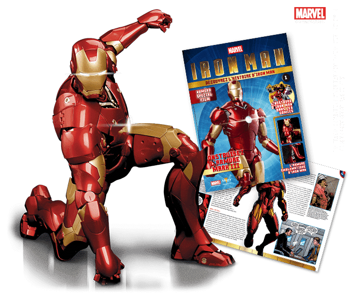 armure Iron Man Altaya maquette