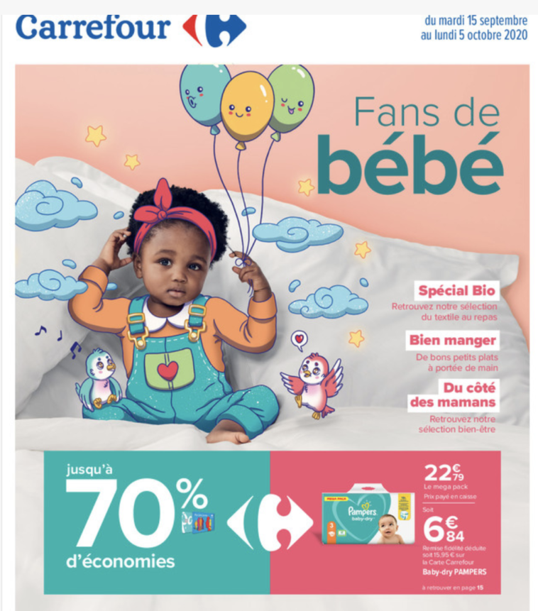 promo couches pampers carrefour