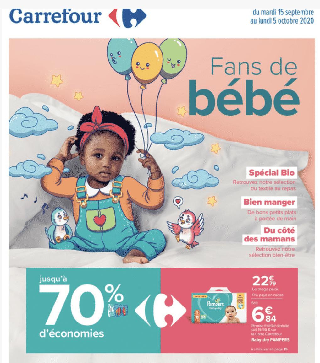 Promo couches Pampers Carrefour : jusqu'à 70% d'économies sur carrefour.fr