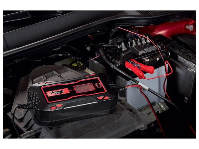 Promo : chargeur de batterie LIDL pour voiture à 31.99 €