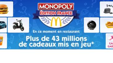 McDonalds.fr Monopoly