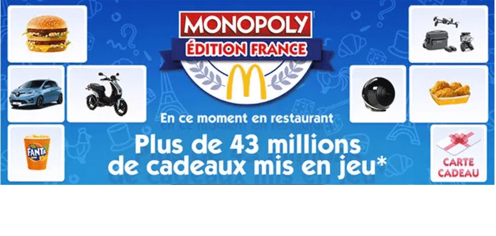 monopoly Mcdo