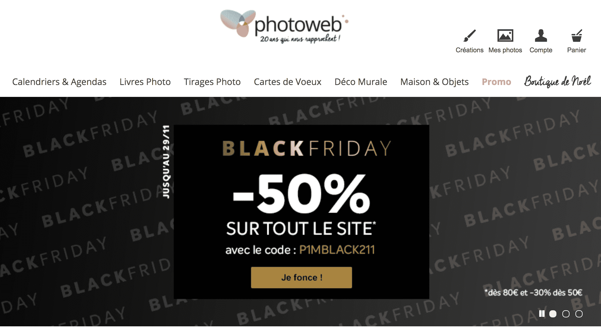 Black Friday PhotoWeb