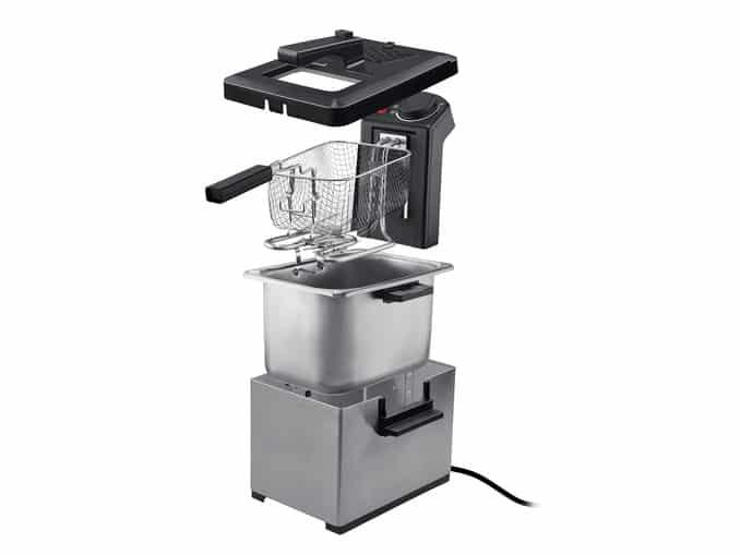 Bon plan : friteuse acier LIDL à 34.99 €