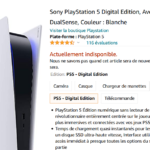 disponibilité playstation 5 amazon