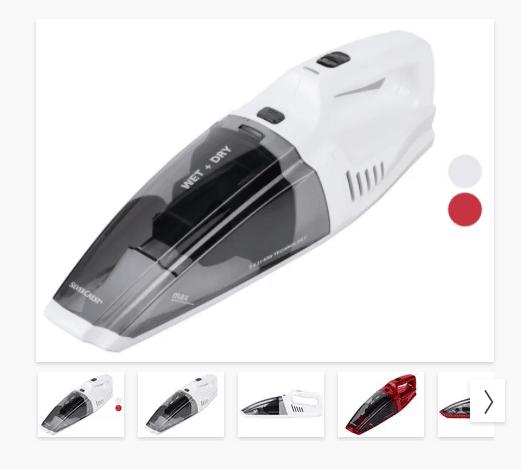 Promo : aspirateur à main LIDL eau et poussière à 19.99€
