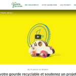 Opération Challenge Recyclage Andros sur legestequicompte.andros.fr