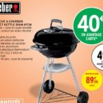 barbecue weber intermarché