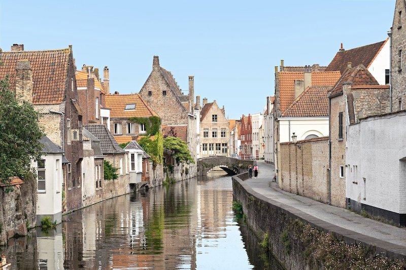des maisons en Belgique