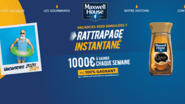 Grand Jeu Maxwell House Rattrapage Instantané