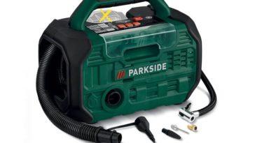 Compresseur et pompe à air sans fil Lidl Parkside