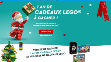 Jeu Noël Magique Lego 2021 sur legonoelmagique.com